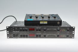 Hi-Fi- A Realistic stereo disco mixer and two Puls