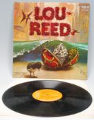 Vinyl long play LP record album by Lou Reed – Lou