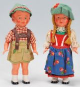Two vintage mid 20th Century souvenir German / Aus