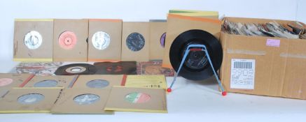 """A collection of vintage singles 7"""" 45 RPM EP vinyl"""