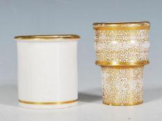 A 19th Century Victorian era ceramic pounce pot /