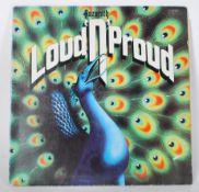 Vinyl long play LP record album by Nazareth – Loud
