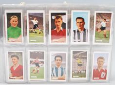 A album of vintage mixed cigarette cards to includ