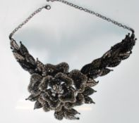 A Butler and Wilson fashion jewellery collar choke