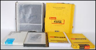 A collection of glass negatives by still life phot