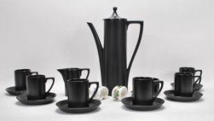 A vintage 20th Century Portmeirion coffee service