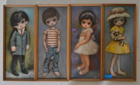Ozz Frana - A collection of four framed and glazed