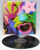 Vinyl long play LP record album – The Crazy World