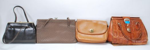 A collection of vintage ladies handbags / evening
