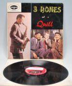 Vinyl long play LP record album – Three Bones And