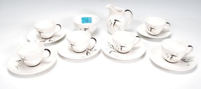 A Royal Doulton coffee service for six persons in