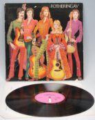 Vinyl long play LP record album by Fotheringay – F