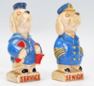 A pair of rare vintage early 20th Century Senior S
