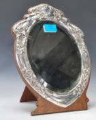 An early 20th Century silver mounted Art Nouveau s