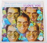 Vinyl long play LP record album by Murray Roman –