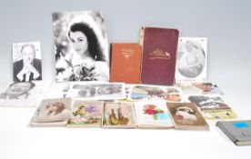 A selection of ephemera dating from the early 20th