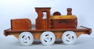 A 20th Century scratch built sit on steam engine t