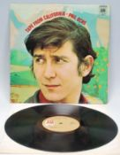 Vinyl long play LP record album by Phil Ochs – Tap