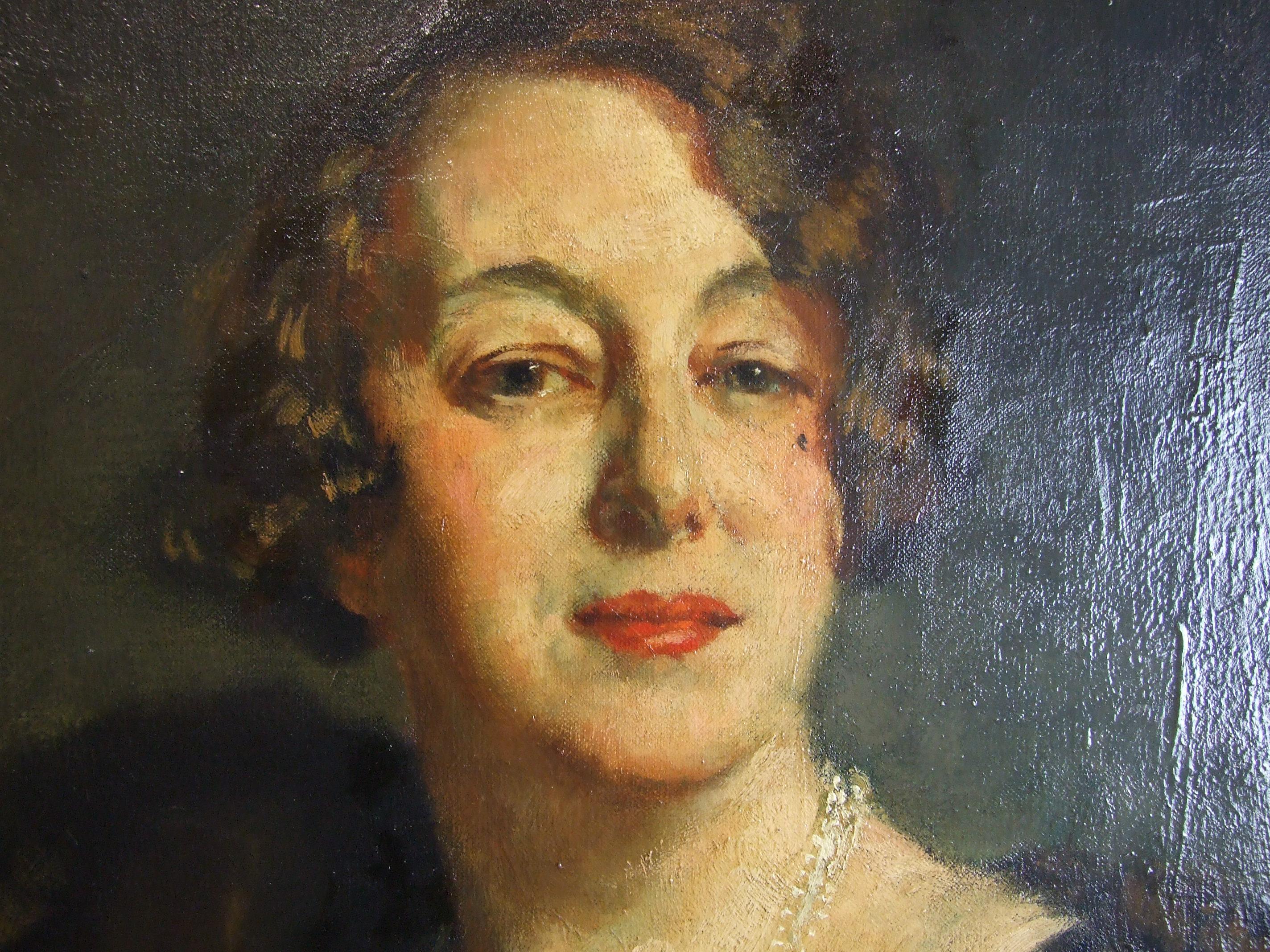 Lot 14 - •Simon Elwes RA (1902 - 1975) ESTHER ROSAMOND MARKE WOOD, CONTESSA SANT'ELIA (1881 - 1965),