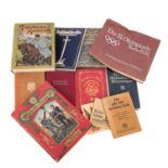 Bücherkonvolut, Deutschland 19./20.Jh. -Bücher und Broschüren zu den Themen Preussen, dt. - franz.