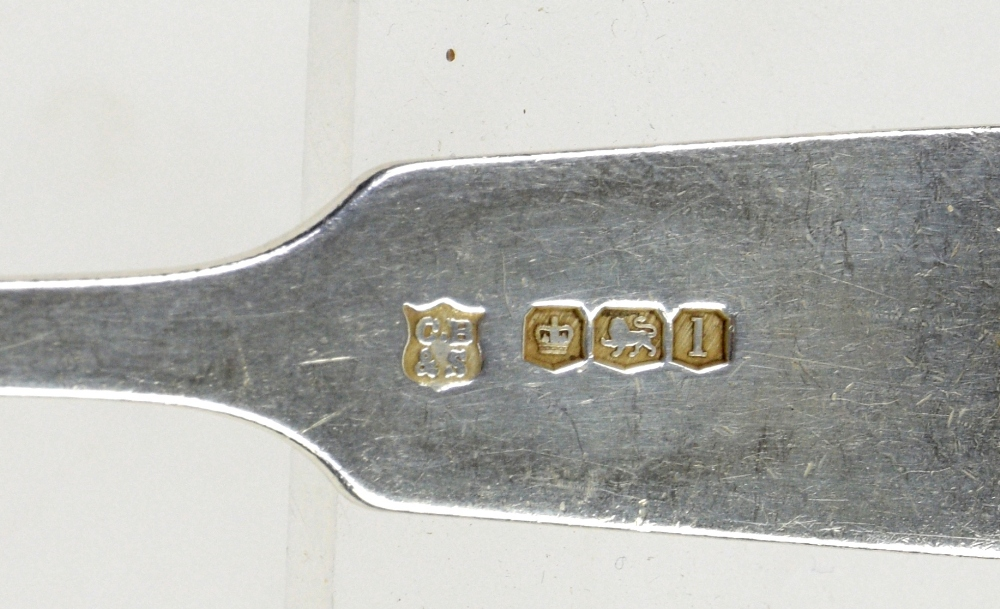 Lot 2041A - Victorian and later silver flatware, to include six table forks, six side forks and seven dessert