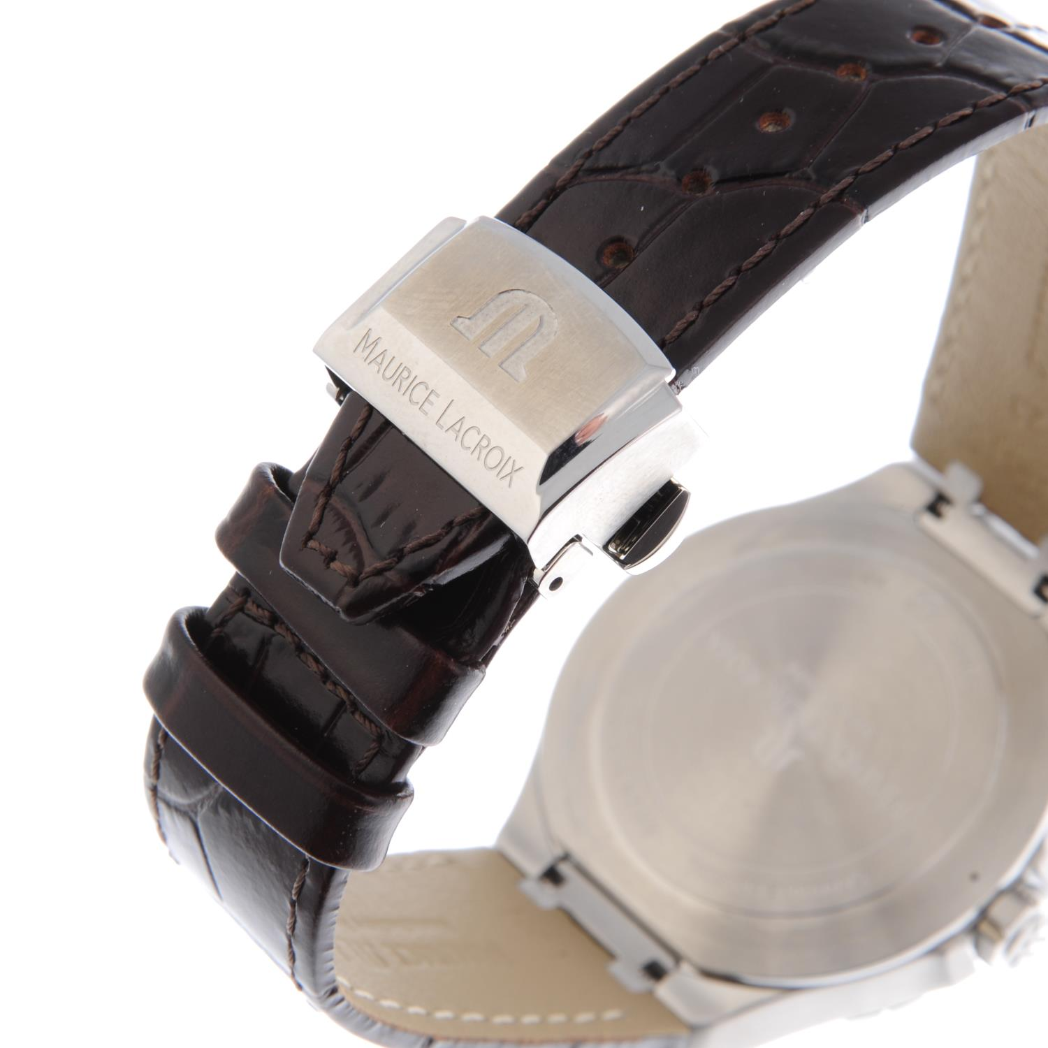 Lot 177 - CURRENT MODEL: MAURICE LACROIX - a gentleman's Aikon wrist watch. Stainless steel case. Reference