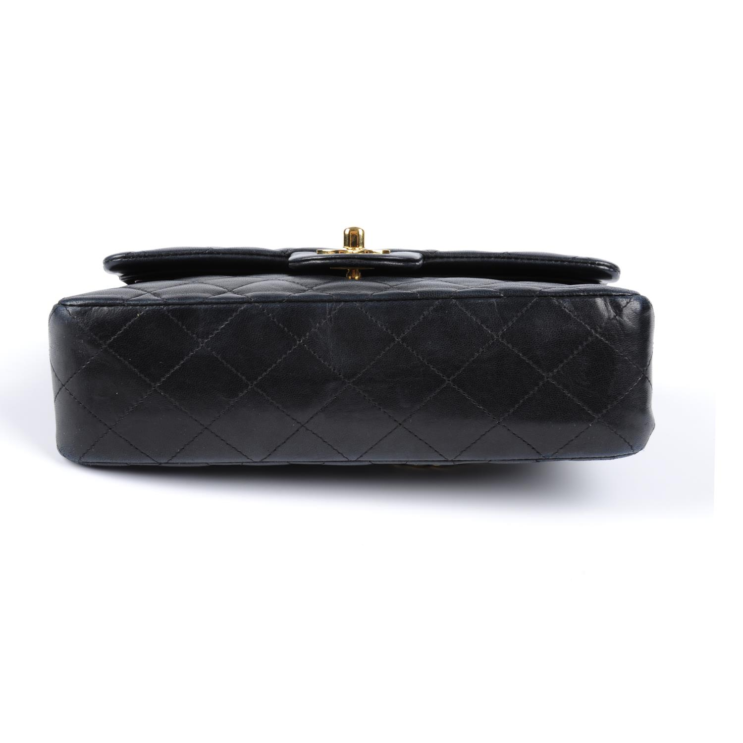 Lot 57 - CHANEL - a Small Double Flap handbag.