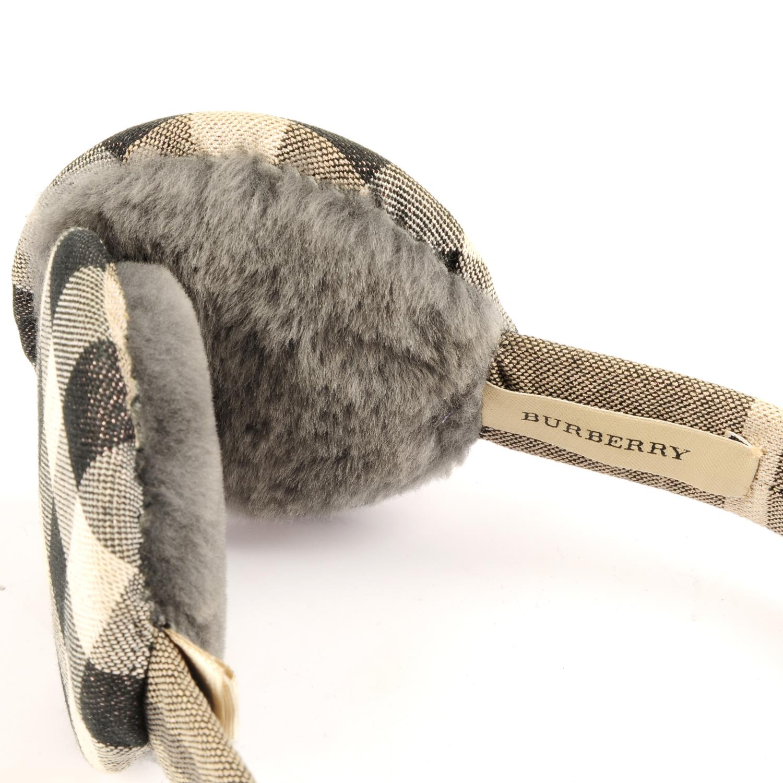 Lot 18 - BURBERRY - a pair of ear muffs.