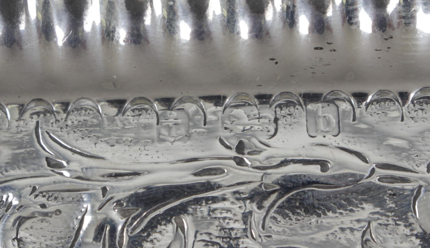 Lot 111 - A pair of Edwardian silver pin dishes,