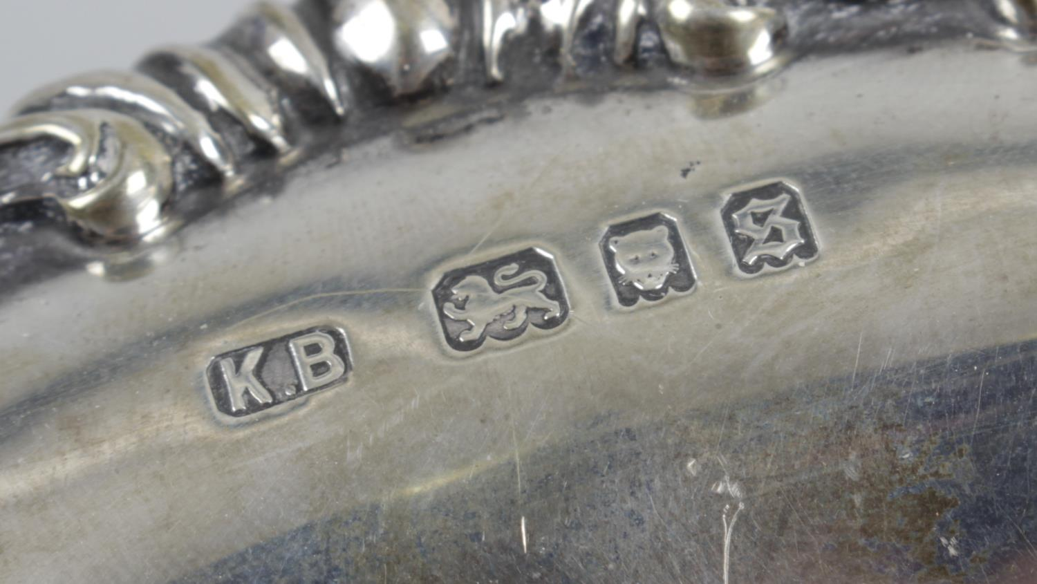 Lot 137 - A 1930's shallow silver dish,