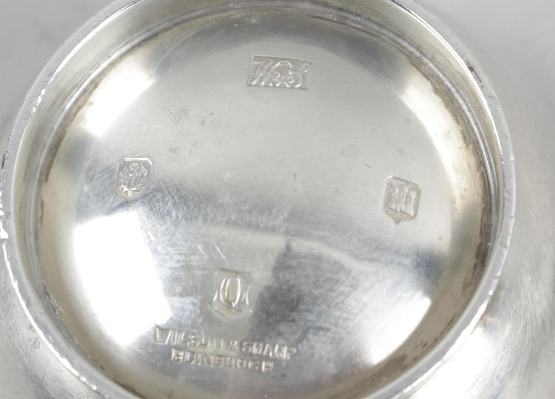 Lot 39 - A 1920's small Scottish silver quaich,