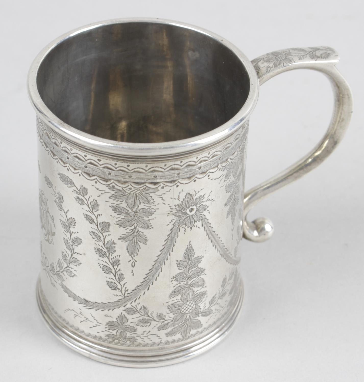 Lot 38 - A Victorian silver christening mug,