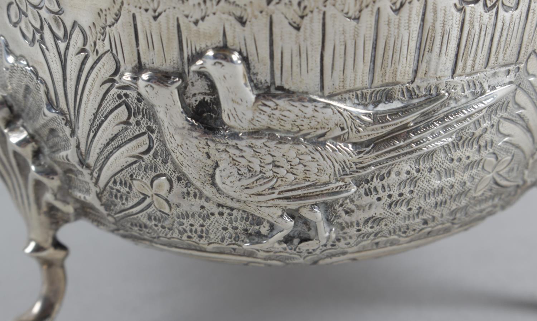 Lot 6 - An Edwardian silver bowl,