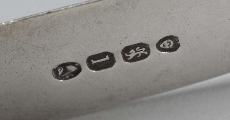 Lot 155 - Ten assorted pairs of silver sugar tongs,