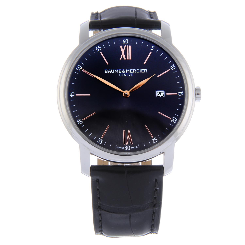Lot 1 - BAUME & MERCIER - a gentleman's Clifton wrist watch.