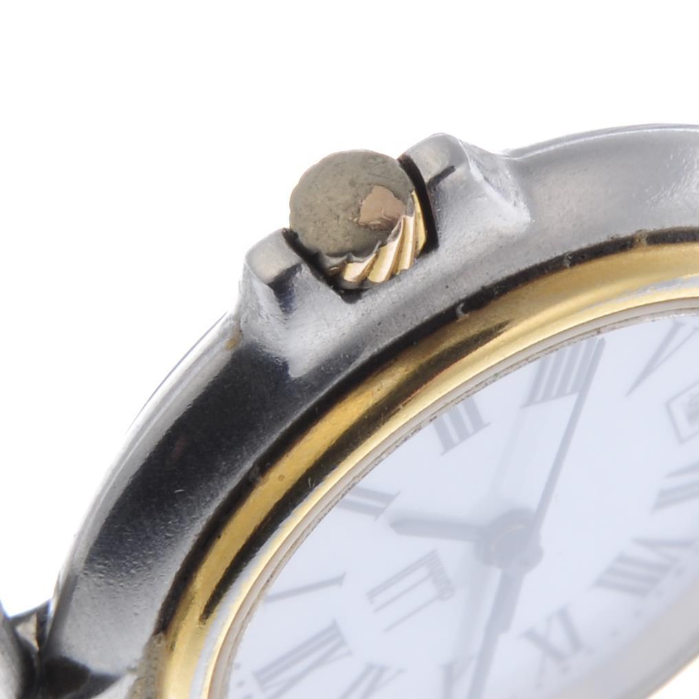Lot 29 - DUNHILL - a lady's Millennium bracelet watch.