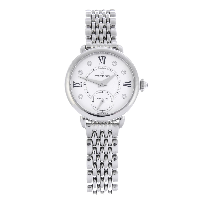 Lot 35 - ETERNA - a lady's Small Seconds bracelet watch.