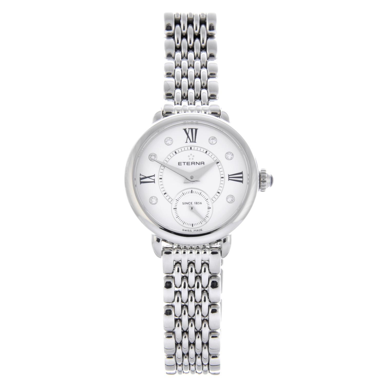 Lot 36 - ETERNA - a lady's Small Seconds bracelet watch.