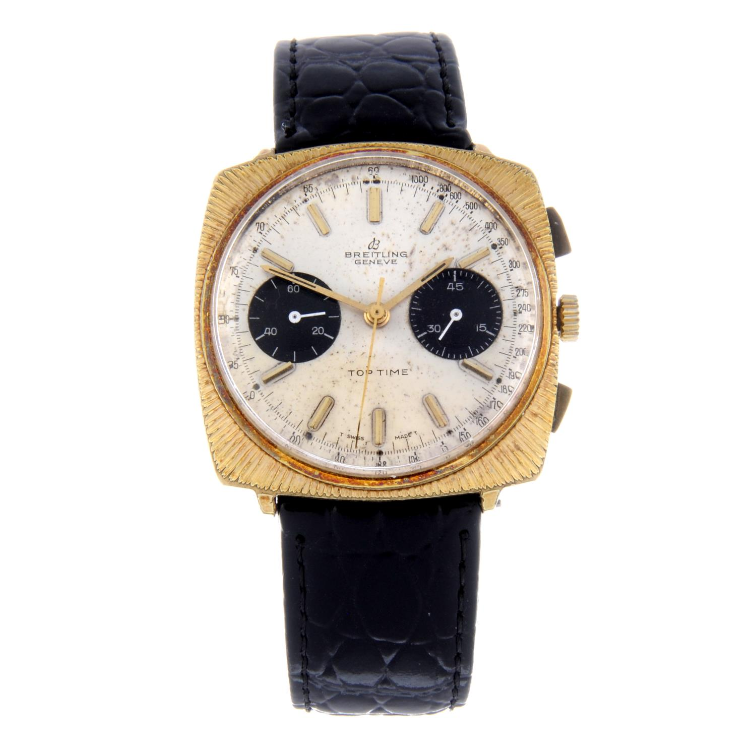 Lot 4 - BREITLING - a gentleman's Top Time chronograph wrist watch.