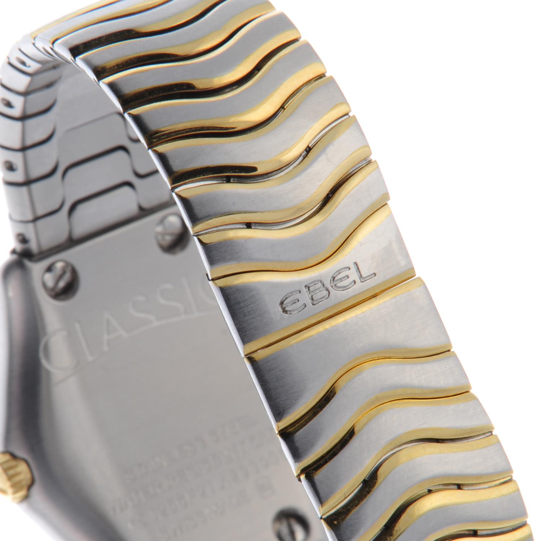 Lot 32 - EBEL - a lady's Classic bracelet watch.