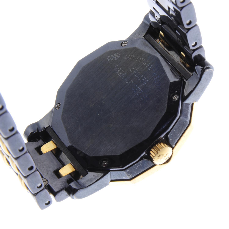 Lot 16 - CORUM - a lady's Admiral's Cup bracelet watch.