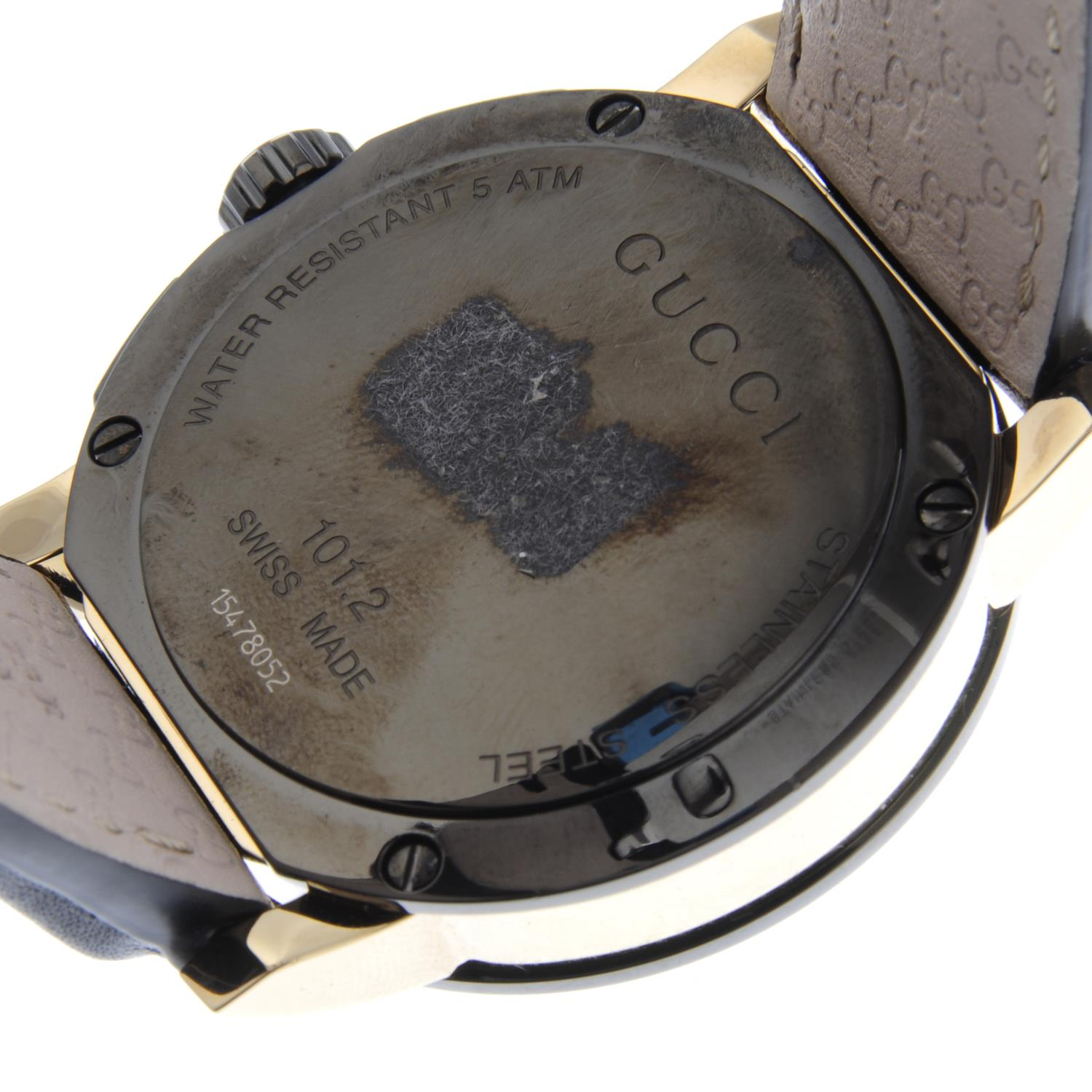 Lot 60 - GUCCI - a gentleman's G-Chrono chronograph wrist watch.