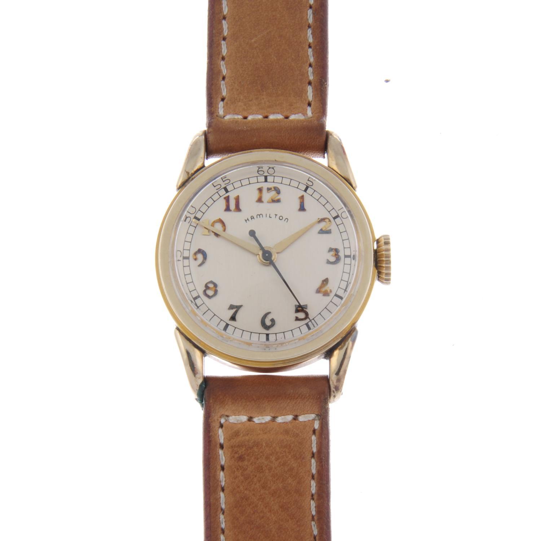 Lot 7 - BULOVA - a gentleman's watch head.
