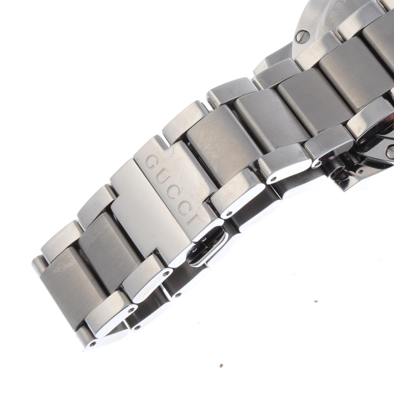 Lot 48 - GUCCI - a gentleman's G-Chrono chronograph bracelet watch.