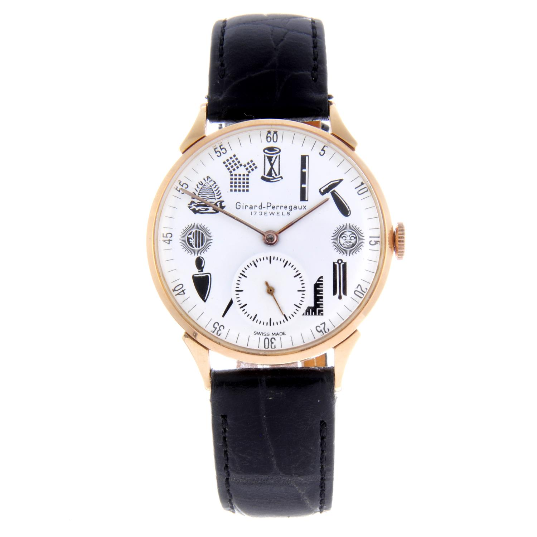 Lot 38 - GIRARD-PERREGAUX - a gentleman's wrist watch.