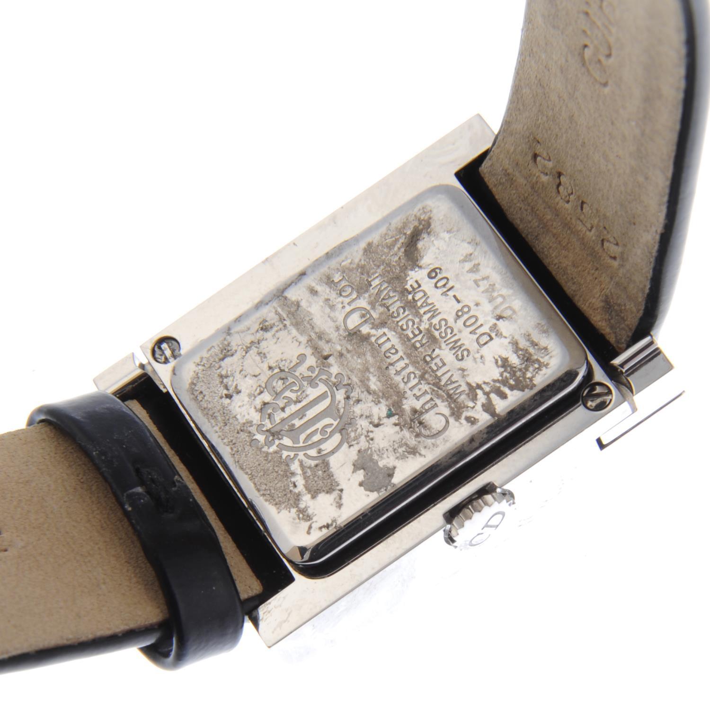 Lot 25 - DIOR - a lady's Mariss wrist watch.