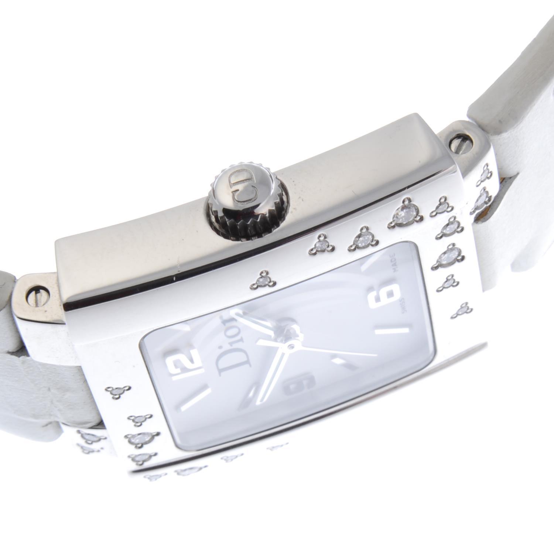 Lot 26 - DIOR - a lady's wrist watch.