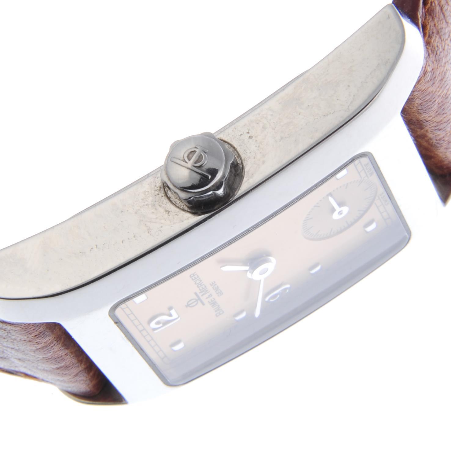 Lot 3 - BAUME & MERCIER - a lady's Hampton wrist watch.