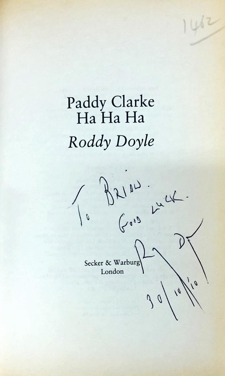 Lot 16 - Irish Novels: Doyle (Roddy) Paddy Clarke Ha Ha Ha, 8vo L.