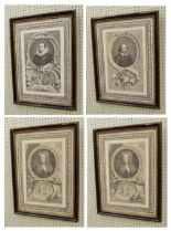 Lot 223 - After Houbraken (18th/19th century) - portrait of William Shakespeare, within an oval engraved